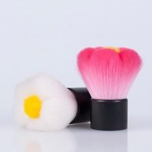 flower shape kabuki beauty brush,best fiber brush