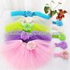 kid flower girl tutu dress for birthday 40colours in stock