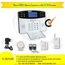 Gsm sistema de seguridad con pantalla LCD ( YL-007M2B )