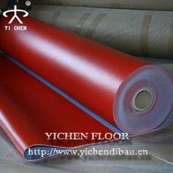 plastic pvc flooring/plastic floor protector table tennis court flooring