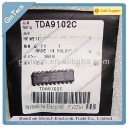 (IC) H/V PROCESSOR FOR TTL V.D.U TDA9102C