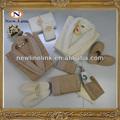 terry do algodão presente embalagem roupão conjunto 13 pces laço moda roupão conjunto
