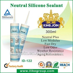 clear Structural Neutral Silicone Sealant(Reach,TUV,SGS)