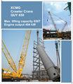 xcmg quy650 650 ton guindaste motor volvo rexroth hidráulica crawler crane ton 650 chinês marca nova lima grua de lagartas