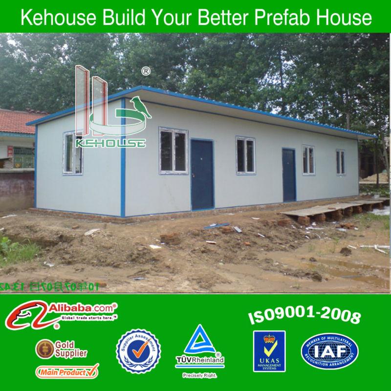 Easy assemble galvanized steel modular residential building plans