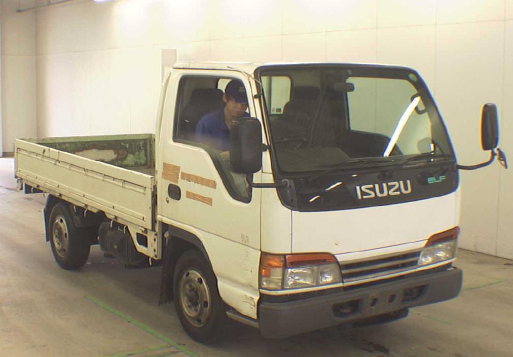 Alfa img - Showing > Isuzu Engine Flatbed Truck