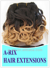 """low price stock promotion 8"""" ombre hair extensions 50g/pc 2pcs/bag"""