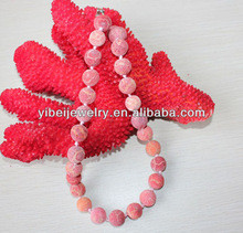 natural red sponge coral beads jewellery sponge coral necklace design
