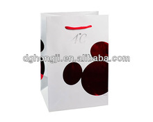 luxury laminated paper shopping bags