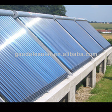 non-pressurized high efficiency solar collector for swimming pool, hotel