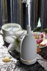 CERAMIC AROMISTER Ultrasonic Natural Essential Oil Diffuser Humidifier, Aroma Nebulizer w/Porcelain Housing & LED NIght Li