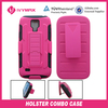 double layers clip cases for galaxy s4 mini robot case