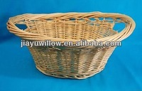 Laundry Clothes Fruit Willow Straw Wicker Large Strong Basket