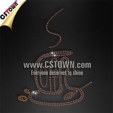 Custom wholesale rhinestone hot fix gems for clothes