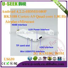 U seek caliente de la alta función de internet tv módem US639