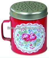 wholesale cup tin/CMYK printing coffee mug Tin box / promotional tin case