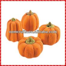 Various yellow resin Thanksgiving Outdoor Decorating Pumpkins