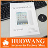 Hot selling clear screen protector for ipad mini 2 3 4 air
