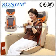 3d body shiatsu massaging bed seat cushion
