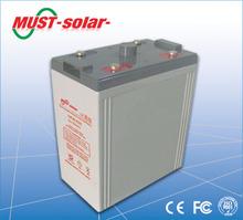<MUST Solar>2V LARGE CAPACITY SEALED LEAD ACID BATTERY