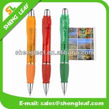 Cheap customized logo plastic banner pen flag pen
