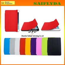New arrival smart cover for ipad 5 stand case for ipad air