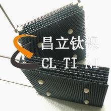 Iridium Ruthenium titanium electrodes for sewage treatment