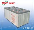 <MUST Solar>vida de serviço longa solar baterias 2v 1000ah