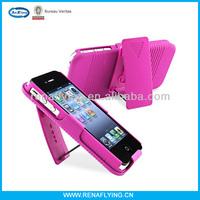 Swivel belt clip holster hard case for iphone 4 4s