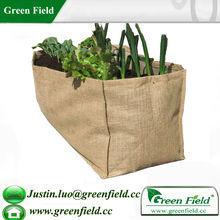Green Field Herb Planter Jute Grow Bag