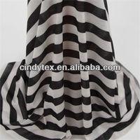 32s drapery soft poly spandex printed stripe jersey knit fabric