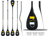 Stand Up Paddle Board Paddle Bent Shaft