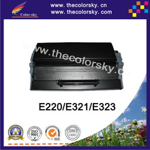 (CS-LE220) BK print top premium toner cartridge for Lexmark 12S0400 12A7305 E220 E220N E321 E323 E323N (6000 pages)