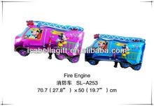 The fire trucks cartoon balloons,cartoon helium balloons