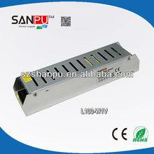 high efficiency 12v 24v 100w single output power supply module