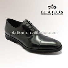 high class burnish cow leather EVA design Italian style men shoes