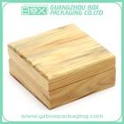 natural plain small pine wood boxes