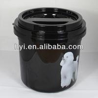 5kg plastic cat food storage container