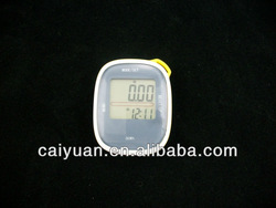 Sports fitness equipment from China calorie counter free pedometer with accelerometer