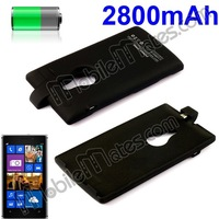 2800mAh Portable Power Bank External Battery Charger Case for Nokia Lumia 925