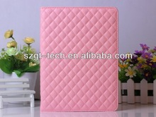 High quality chrom PU case for iPad air