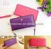 New Arrivel PU Ladies Wallets/Smart Card Holder Purse/Colourful Zipper Around Purse Bags