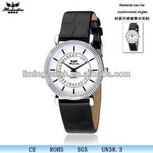 Hot selling 2013 fashion quartz leather wristband watch