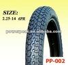 2.25-14 motorcycle tire 6pr 225-14 moto / dirt bike tyre
