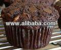 Muffins de chocolate torta de mezcla& premezcla