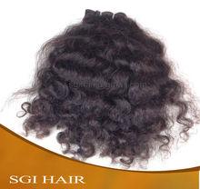 In Stock!!!Silky curlyCheap100% Natural Deep curly Virgin Indian Hair
