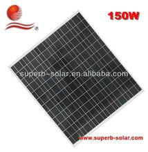 150W lowest price polycrystalline solar panel china