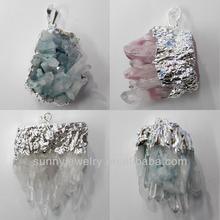 crystal pendant charm, 35-50mm