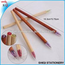 Stationery novelty wood ballpen eco pen