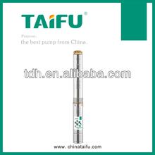 Deep well electric pressure testing pump